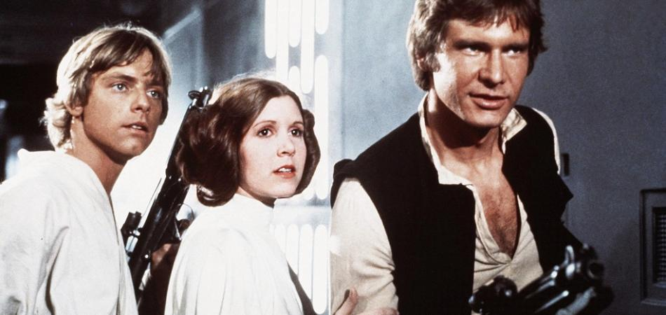 Carrie Fisher Star Wars Episodio IX