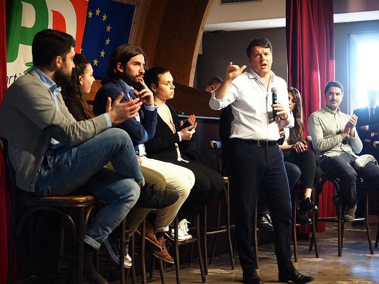 Convenzioni Territoriali PD, plebiscito di consensi in Irpinia per Matteo Renzi