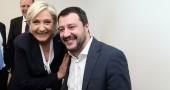 L'imbarazzante tweet di Matteo Salvini pro Marine Le Pen sull'attentato di Parigi