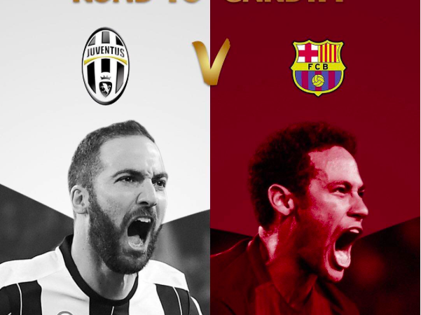 Juventus-Barcellona Champions league