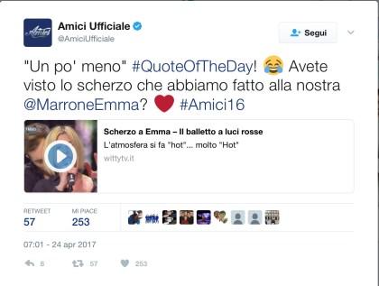 Tweet Emma