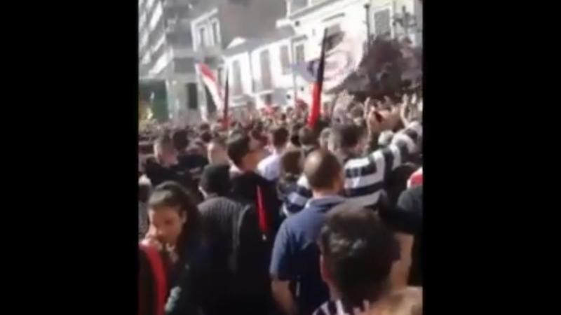tifosi Foggia Napoli