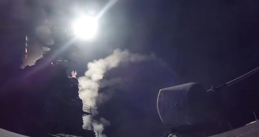 video attacco militare usa in siria