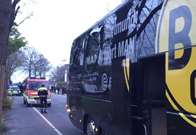 attacco bus borussia