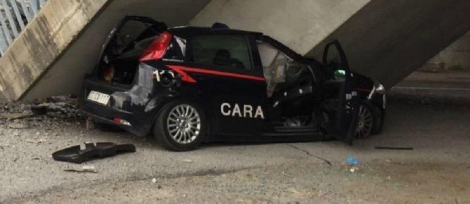 Ponte crollato Cuneo