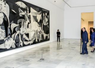 Guernica non ritrae bombardamento
