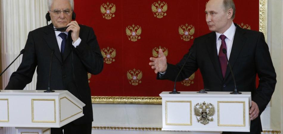 Mattarella-Putin