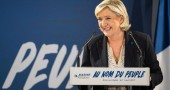 Le Pen attacca Papa Francesco sui migranti: «Non si deve immischiare»
