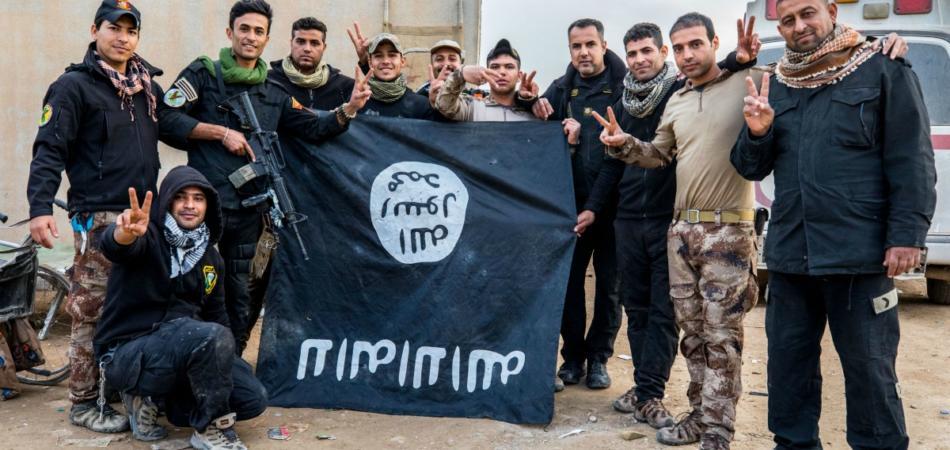 cinghiali Isis