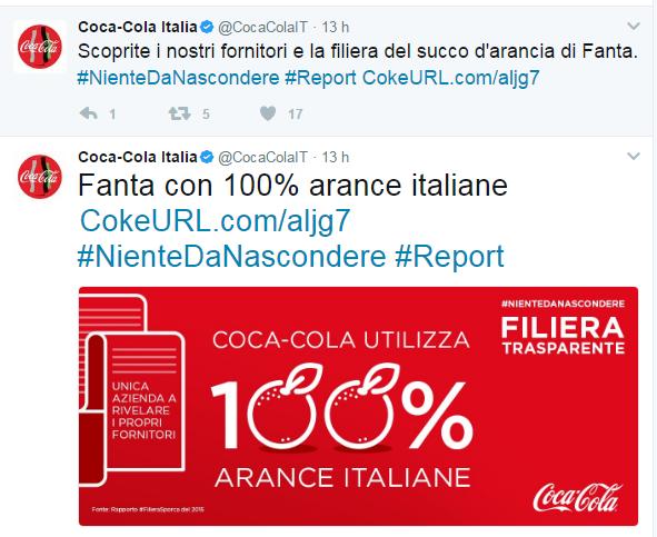 Report Coca Cola