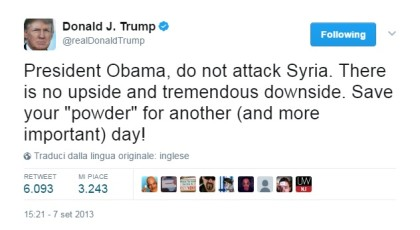 tweet trump obama