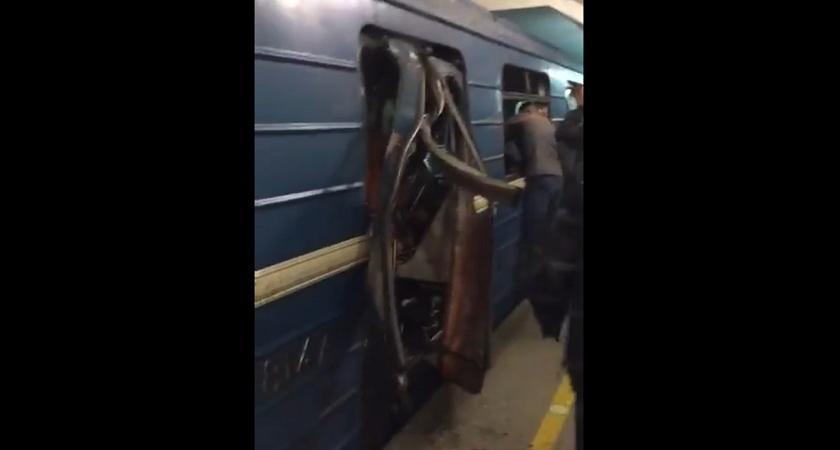 video esplosioni metro san pietroburgo