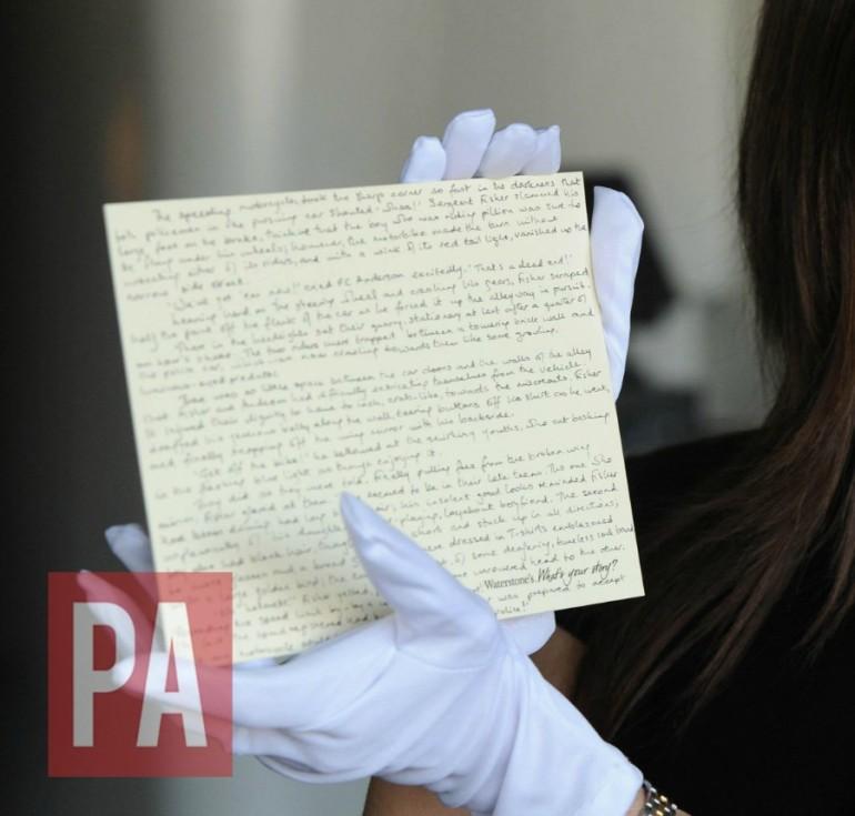 Harry Potter: rubato un manoscritto su James Potter!