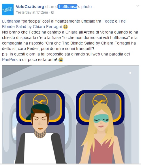 Lufthansa Fedez