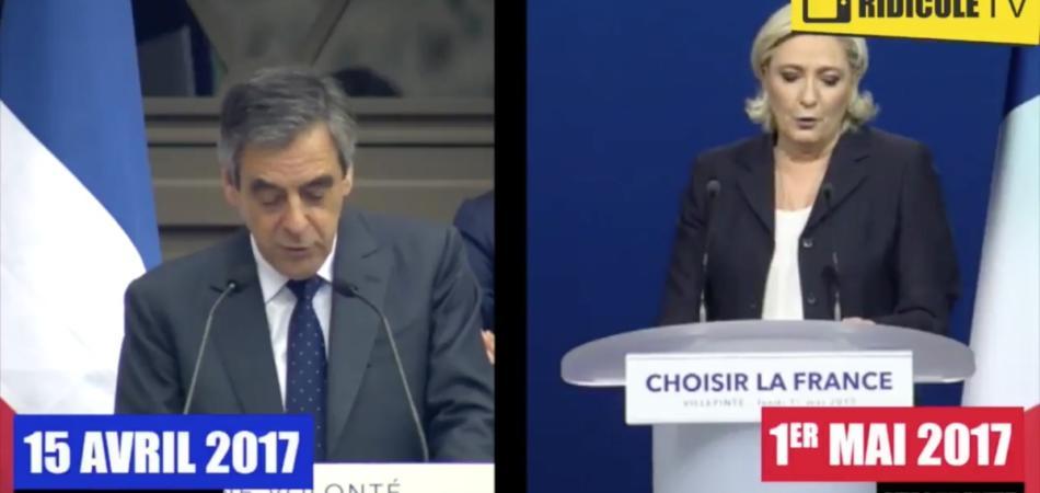 Le Pen copia Fillon