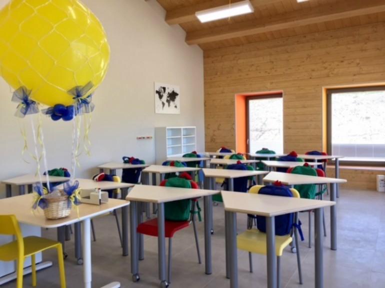 Ikea abbraccia Crognaleto: nuova scuola, dopo il sisma