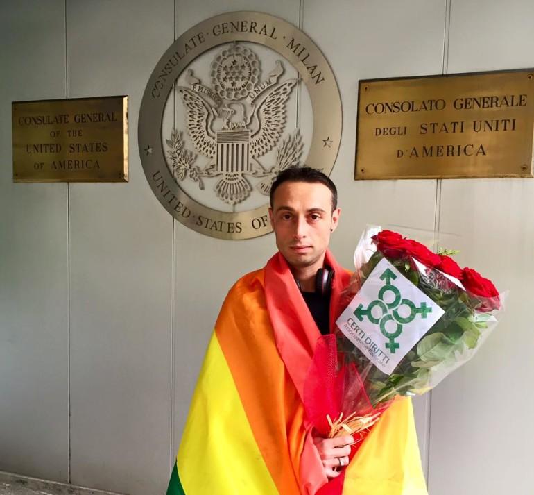 Firme per gay in Cecenia, attivista italiano fermato a Mosca