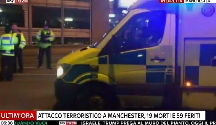 Strage di bambini a Manchester, il killer è figlio di rifugiati libici