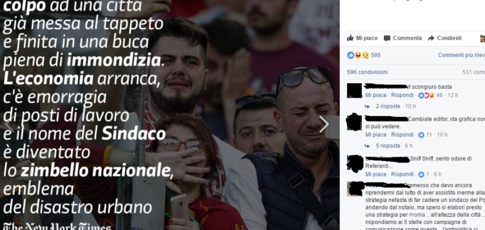 Bufala Totti Raggi