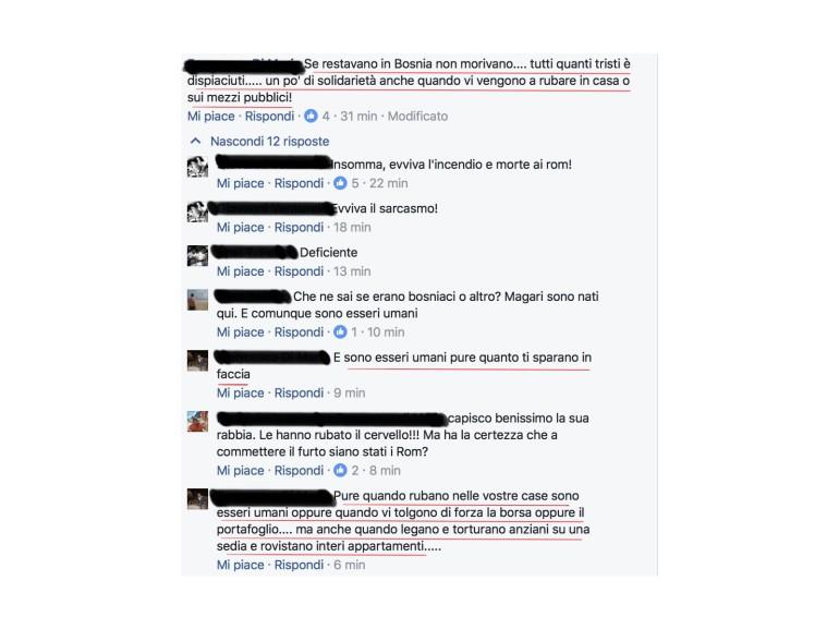 commenti razzisti