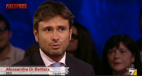 Di Battista, gaffe in tv: