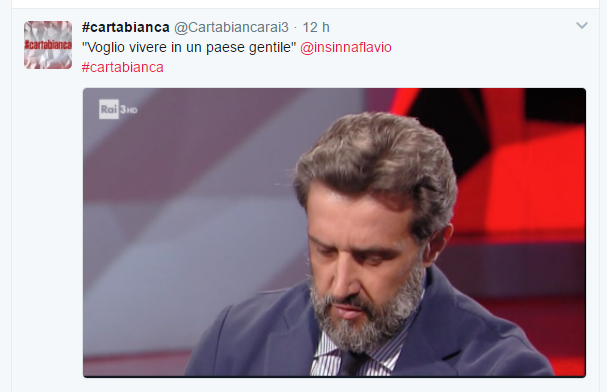 Pupo contro Flavio Insinna lancia #naniuniti nei social
