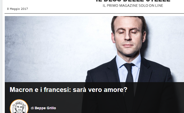 Macron Grillo