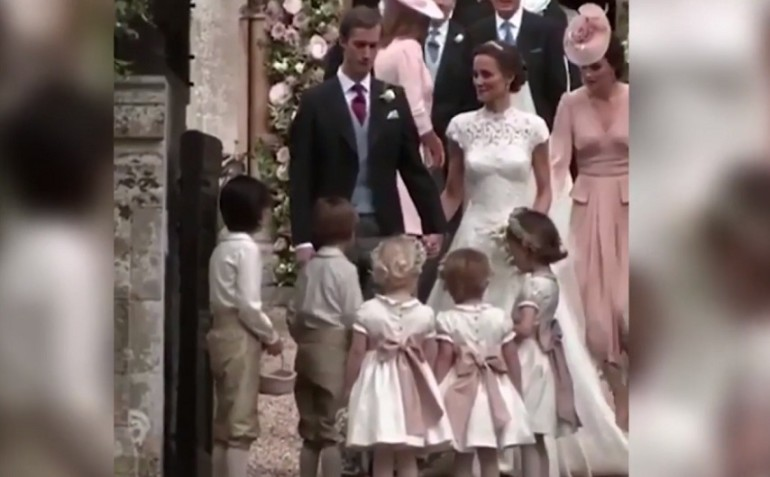 Matrimonio Kate Middleton : Matrimonio pippa middleton kate sgrida il principino