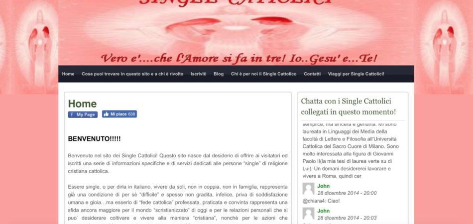 Incontri Single Cattolici