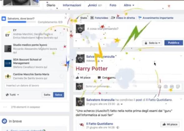 JK Rowling rivela che in passato è esistito un altro Harry Potter