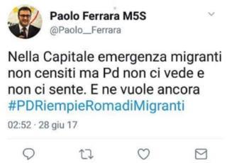 migranti m5s