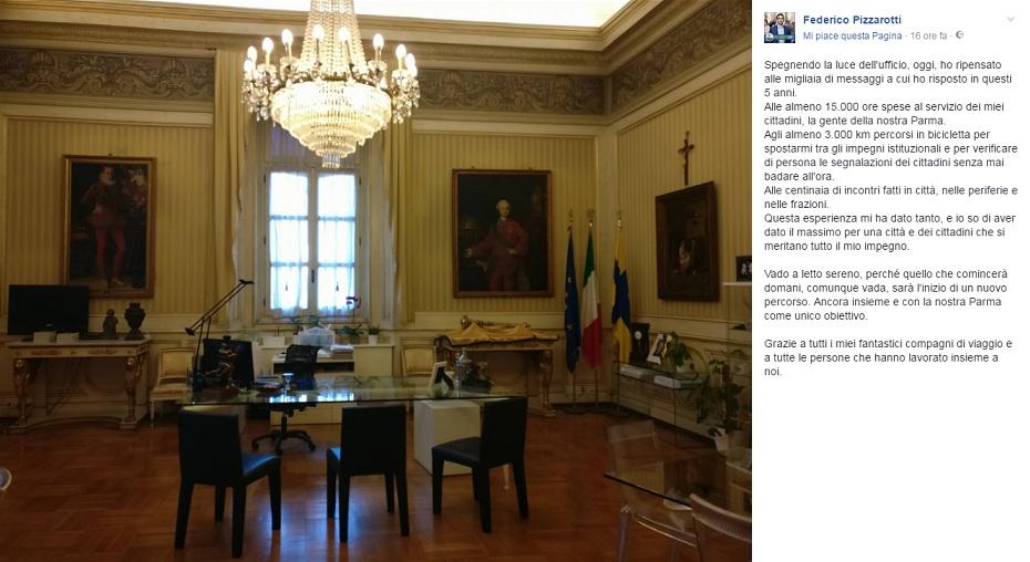 Parma, l'ex M5S Pizzarotti avanti: al ballottaggio con il Pd