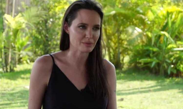 Angelina Jolie maltrattamenti