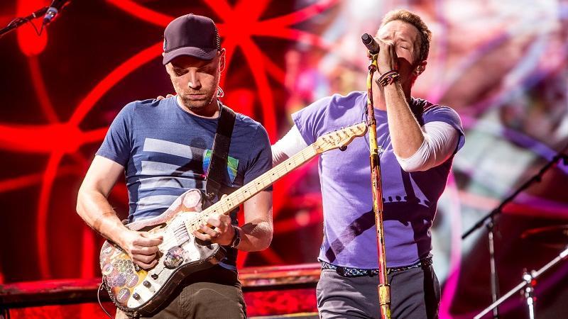 Concerto Coldplay Sansiro