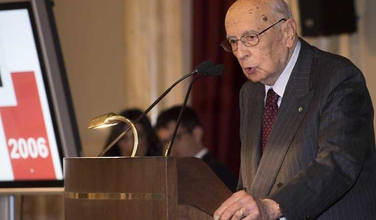 Giorgio Napolitano presidente senato
