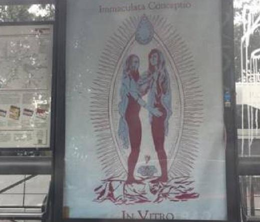 manifesti blasfemi