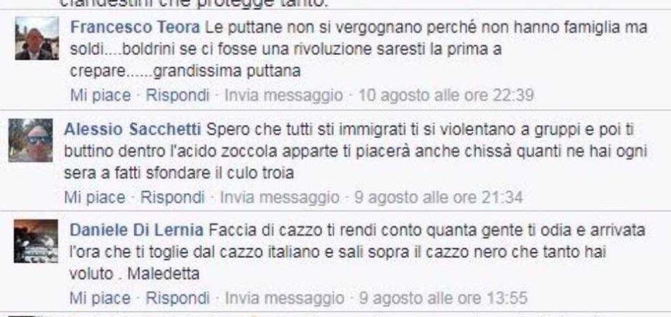 Laura Boldrini denuncia