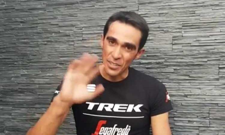 Ritiro Alberto Contador