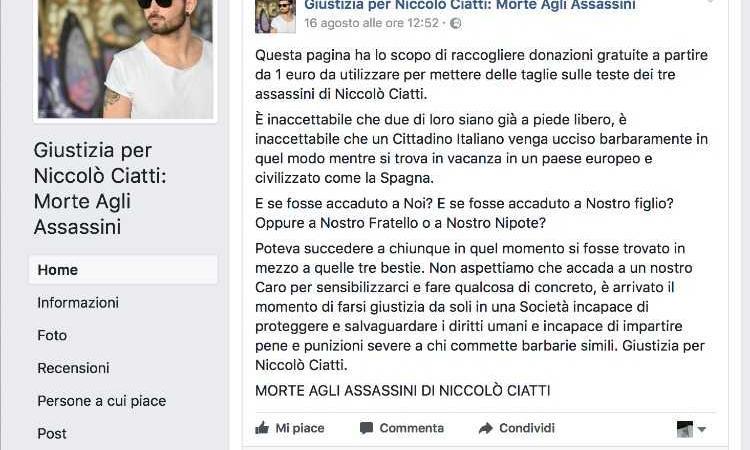 Giustizia per Niccolò Ciatti - Morte agli assassini