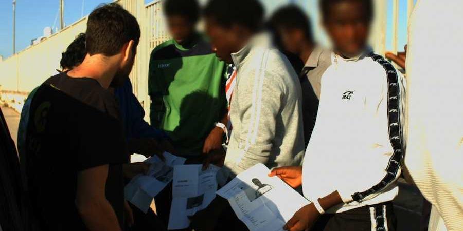 campi libici per i migranti irregolari