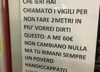 cartello disabile