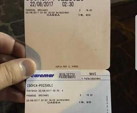ischia biglietti