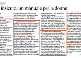 messaggero manuale