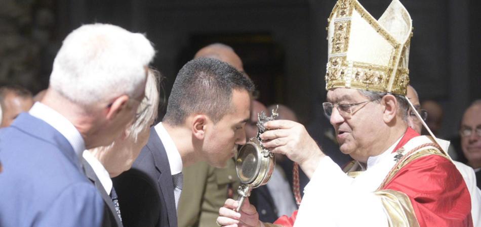 Di Maio vescovi