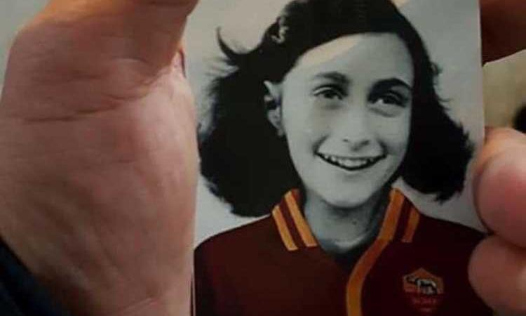 Anna Frank maglia Roma