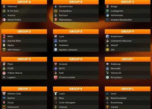 Calendario Europa League 2017 2018