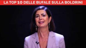 Laura Boldrini bufale
