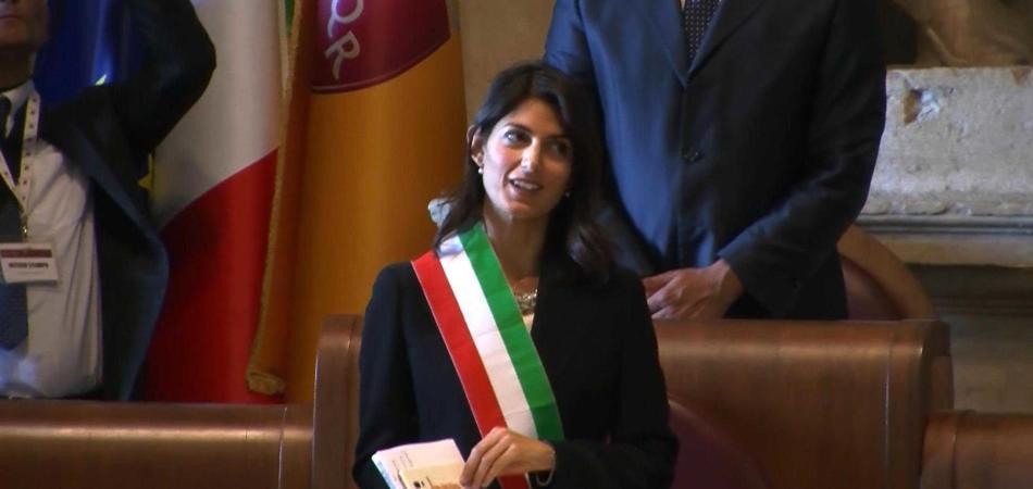 Virginia Raggi Bella Ciao