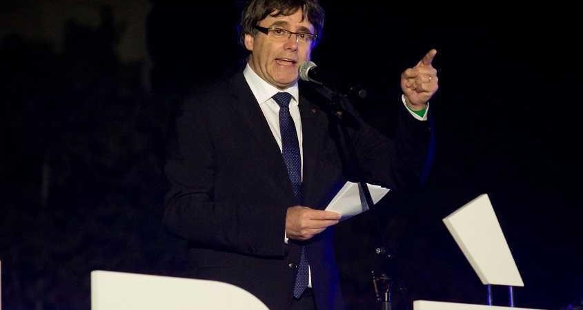 discorso Puigdemont