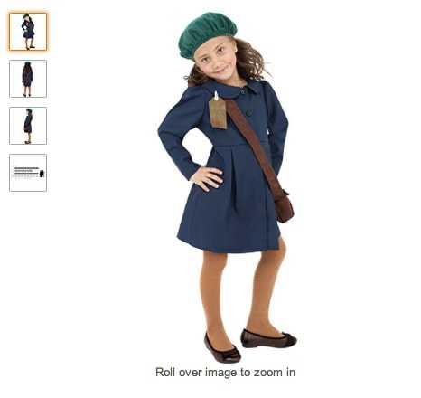 costume per Halloween da Anna Frank